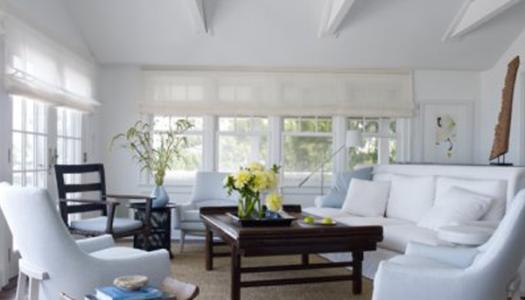 Beachy Midcentury Modern Bungalow in the Hamptons:  Ralph Pucci's Get Away