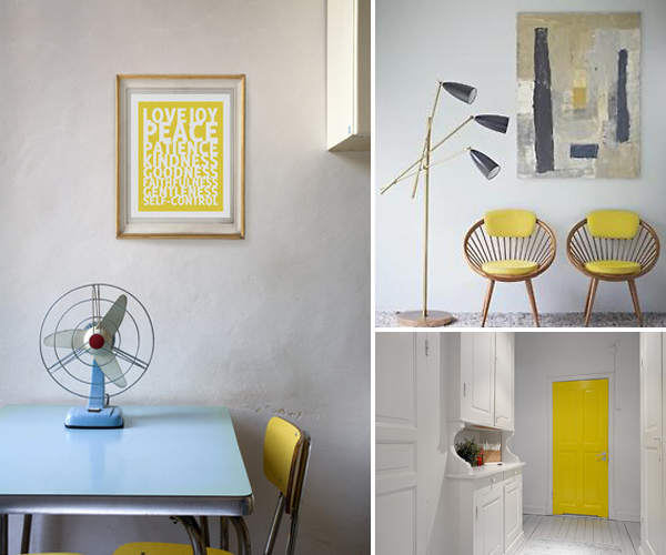 Yellow: The happiest color in the room