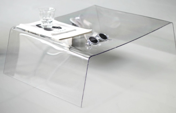 DIY clear or transparent table