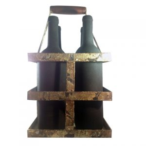 vintage wine caddy