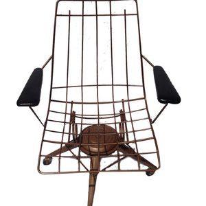 1960's swivel rocker chair