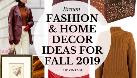 Brown Is Back— Wear and Style this Retro Color at Home