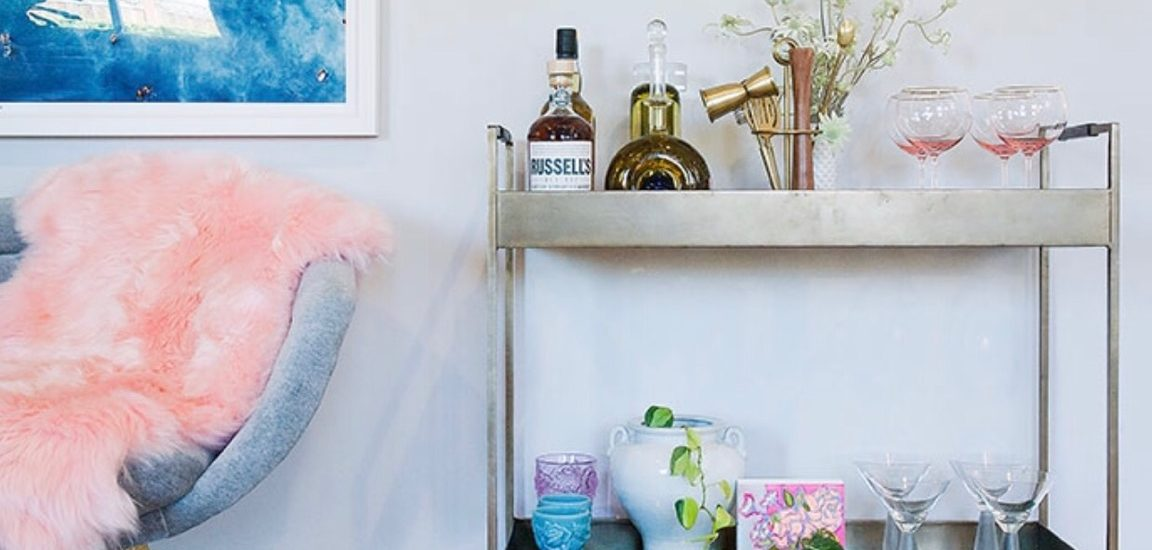 26 Must Have Bar Carts For The Holidays