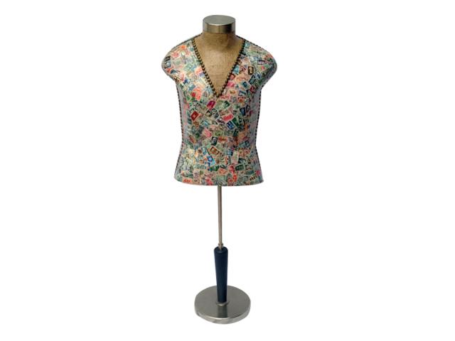 vintage male dress form