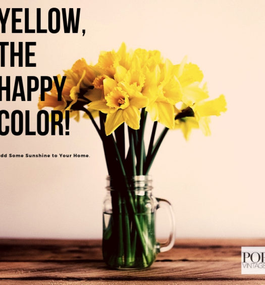 bright yellow flowers in mason jar on rustic table