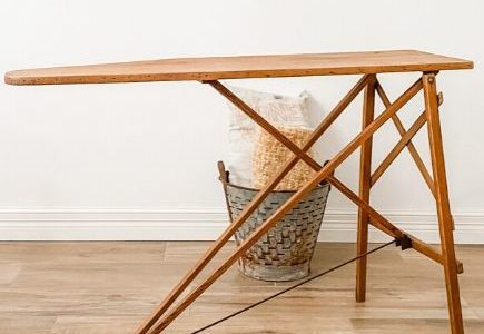 5 Best Old Wooden Ironing Board Decor Ideas for 2020