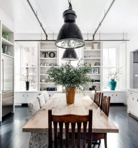 Meg Ryan's kitchen in NYC